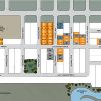 Medium lot 206 site plan