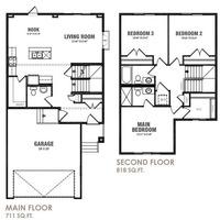 Medium kent floor plan