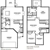 Medium newcastle floor plan