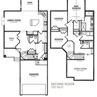 Medium monarch floor plan