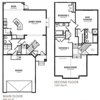 Medium oxford floor plan