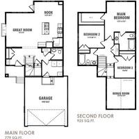 Medium buckingham floor plan