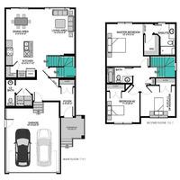 Medium lincoln floor plan rosewood