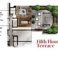 Medium fifth floor terrace