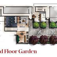 Medium ground floor garden