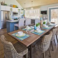 Medium lochlin dining kitchen view