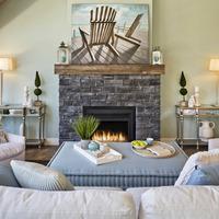 Medium lochlin living fireplace view
