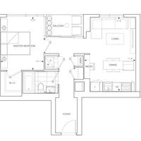 Medium 9 aura floorplan 1