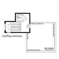 Medium rooftop terrace