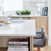 Medium large goodwin gallery kitchen countertop