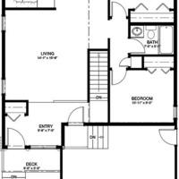 Medium bungalow 2 1003 sq ft mf ws