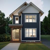 Medium exterior revive blue and white