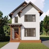 Medium exterior revive white