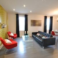 Medium winchester homes living room