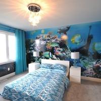 Medium winchester luxurious bedroom