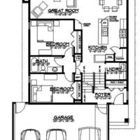 Medium sienna main floor