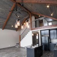 Medium modern craftsman cabin plans 1170x738
