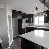 Medium cabin with oversized kitchen island 1170x738