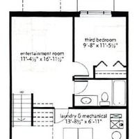 Medium basement floorplan copperstone chalet