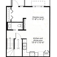 Medium floor plan  main level p2 cropped
