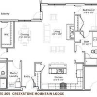 Medium cml 205 floor plan