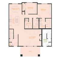 Medium floor plan entrance olive cranstons riverstone calgary