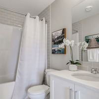 Medium brookfield residential calgary olive retreat secondary bathroom