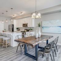 Medium brookfield residential calgary olive retreat dining