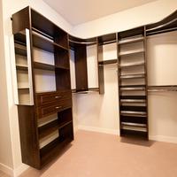 Medium master closet