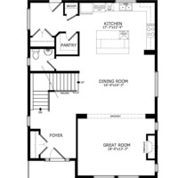 Medium floorplans main floor