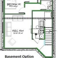 Medium floorplan basement