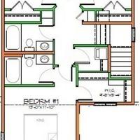 Medium floorplan second