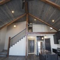Medium vaulted houseplans with timber beams 1170x738