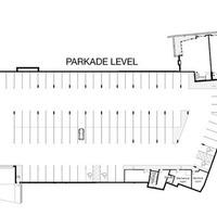 Medium large parkade