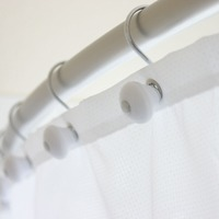 Medium curved shower rod