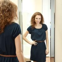 Medium full length mirror in master bedroom