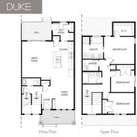 Medium duke floor plan