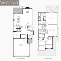 Medium viscount floor plan