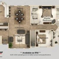 Medium heston floor plan