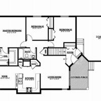 Medium edgebrook floor plan