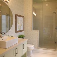 Medium modern bathroom