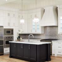 Medium decor studio kitchen