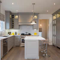 Medium classic kitchen design