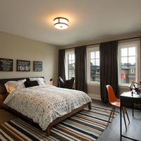 Medium modern kids bedroom