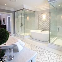 Medium luxury new bathroom