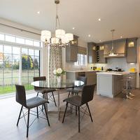Medium markham new home kitchen