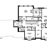 Medium clydesdale second floor b