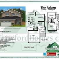 Medium the falcon model floor plan