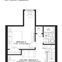 Medium sherwood loft