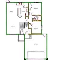 Medium main floor plan